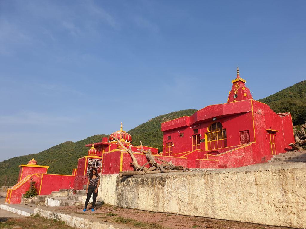 Shiva temple built by the pandavas